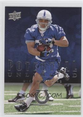 2008 Upper Deck - Potential Unlimited #PU28 - Mike Hart