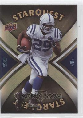 2008 Upper Deck - Starquest - Rainbow Gold #SQ17 - Joseph Addai