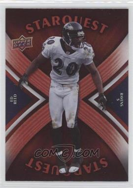 2008 Upper Deck - Starquest - Rainbow Red #SQ12 - Ed Reed