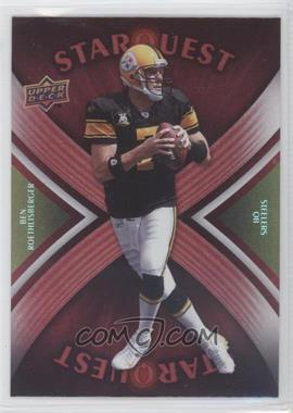 2008 Upper Deck - Starquest - Rainbow Red #SQ4 - Ben Roethlisberger