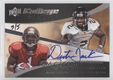 2008 Upper Deck College to Pros Autographs [Autographed] #CP18 - Dexter Jackson /5