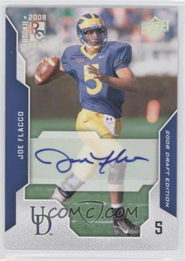 2008 Upper Deck Draft Edition - [Base] - Exclusives Autograph [Autographed] #50 - Joe Flacco