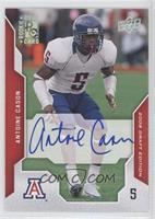 Antoine Cason (On Card Autograph)