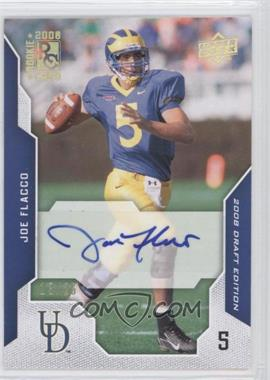 2008 Upper Deck Draft Edition Gold Exclusives Autograph [Autographed] #50 - Joe Flacco /25