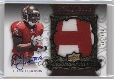 2008 Upper Deck Exquisite Collection - [Base] #155 - Dexter Jackson /199