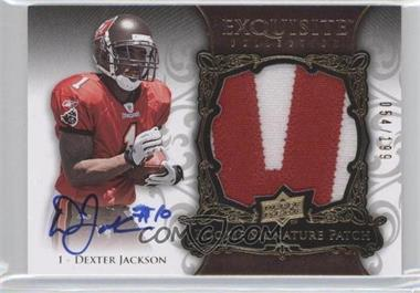 2008 Upper Deck Exquisite Collection - [Base] #155 - Dexter Jackson /199