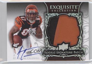 2008 Upper Deck Exquisite Collection [???] #147 - Andre Caldwell /75