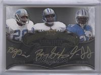 Barry Sanders, Billy Sims, Kevin Smith /25