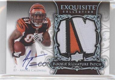 2008 Upper Deck Exquisite Collection Rookie Spectrum Silver #147 - Andre Caldwell /75