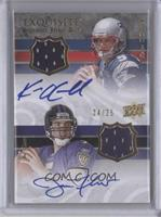 Joe Flacco, Kevin O'Connell /25