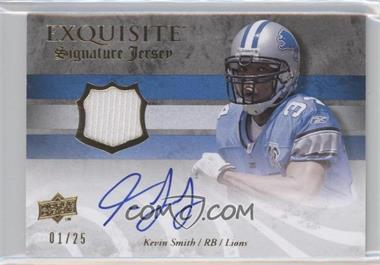 2008 Upper Deck Exquisite Collection Signature Jerseys #ESS-KS - Kevin Smith /25