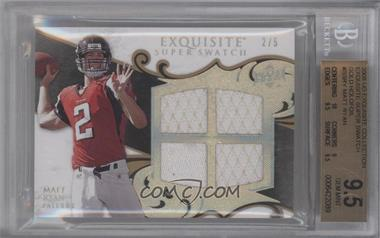 2008 Upper Deck Exquisite Collection Super Swatch Spectrum Gold #SS-RY - Matt Ryan /5 [BGS 9.5]