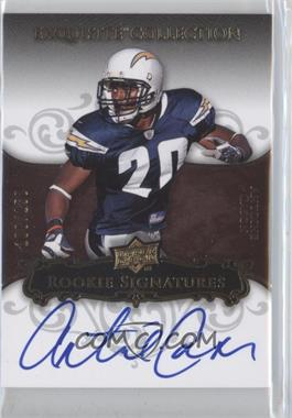2008 Upper Deck Exquisite Collection #106 - Antoine Cason /150