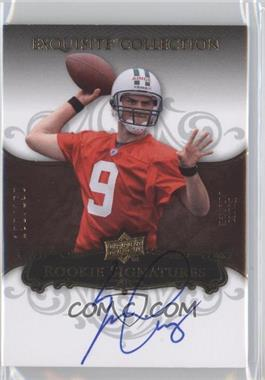 2008 Upper Deck Exquisite Collection #120 - Erik Ainge /150