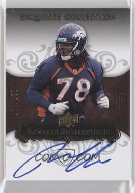 2008 Upper Deck Exquisite Collection #140 - Ryan Clady /150