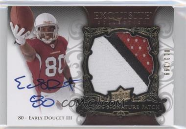 2008 Upper Deck Exquisite Collection #150 - Early Doucet III /199