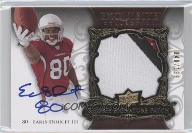 2008 Upper Deck Exquisite Collection #150 - Early Doucet /199