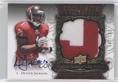 2008 Upper Deck Exquisite Collection #155 - Dexter Jackson /199