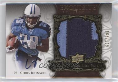 2008 Upper Deck Exquisite Collection #156 - Chris Johnson /199