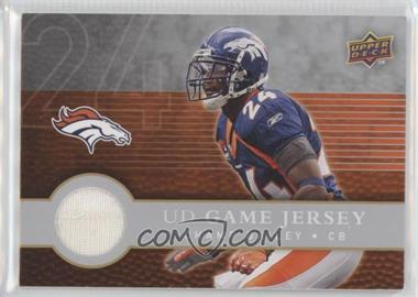 2008 Upper Deck First Edition - UD Game Jersey #FGJ-CB - Champ Bailey