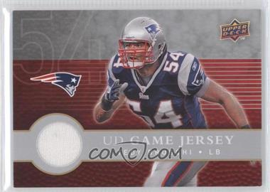 2008 Upper Deck First Edition - UD Game Jersey #FGJ-TB - Tedy Bruschi