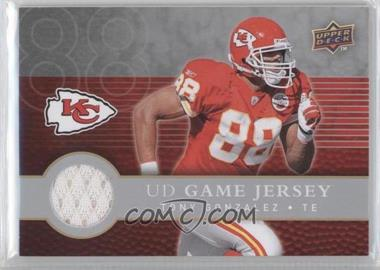 2008 Upper Deck First Edition - UD Game Jersey #FGJ-TG - Tony Gonzalez
