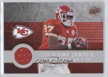 2008 Upper Deck First Edition UD Game Jersey #FGJ-LJ - Larry Johnson