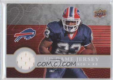 2008 Upper Deck First Edition UD Game Jersey #FGJ-LY - Marshawn Lynch