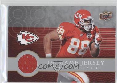 2008 Upper Deck First Edition UD Game Jersey #FGJ-TG - Tony Gonzalez