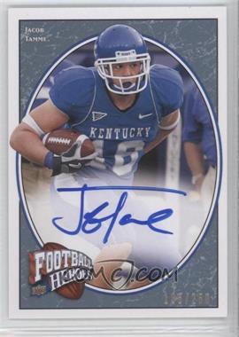 2008 Upper Deck Football Heroes - [Base] - Blue Autographs [Autographed] #149 - Jacob Tamme /250