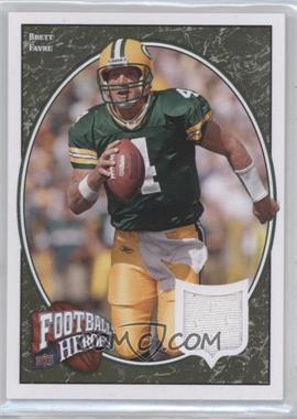 2008 Upper Deck Football Heroes - [Base] - Retail Green Jerseys [Memorabilia] #7 - Brett Favre /75