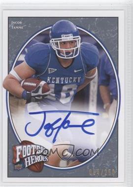 2008 Upper Deck Football Heroes Blue Autographs [Autographed] #149 - Jacob Tamme