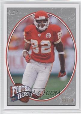 2008 Upper Deck Football Heroes Platinum #40 - Dwayne Bowe /10
