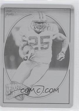 2008 Upper Deck Football Heroes Printing Plate Black #87 - Ryan Grant /1