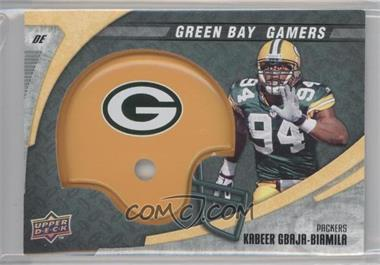 2008 Upper Deck Green Bay Gamers #24 - Kabeer Gbaja-Biamila