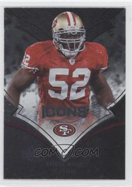 2008 Upper Deck Icons Rainbow Foil #85 - Patrick Willis