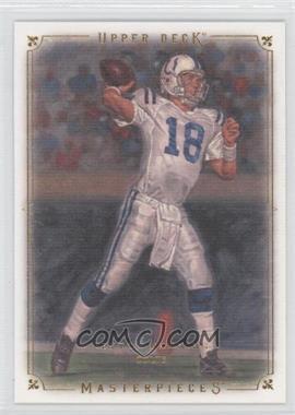 2008 Upper Deck Masterpieces #68 - Peyton Manning