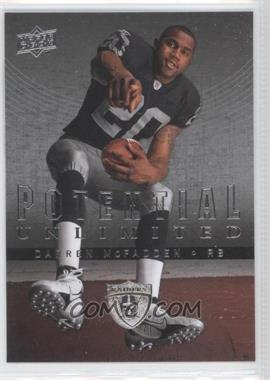 2008 Upper Deck Potential Unlimited #PU11 - Darren McFadden