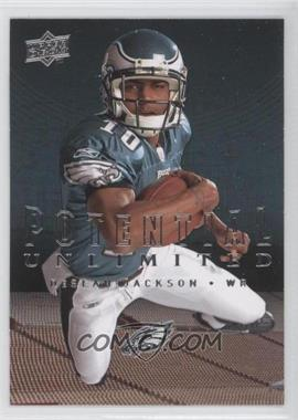 2008 Upper Deck Potential Unlimited #PU12 - DeSean Jackson
