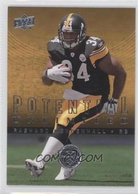 2008 Upper Deck Potential Unlimited #PU17 - Rashard Mendenhall