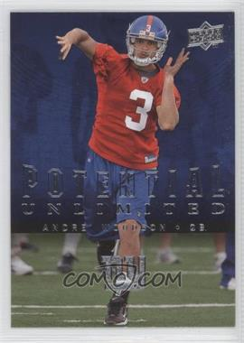 2008 Upper Deck Potential Unlimited #PU2 - Andre' Woodson