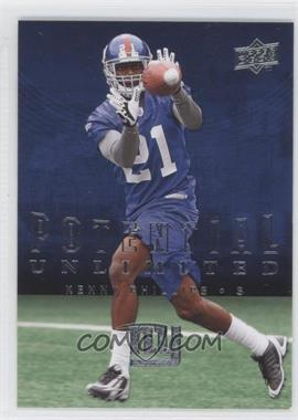 2008 Upper Deck Potential Unlimited #PU21 - Kenny Phillips