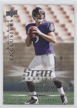 2008 Upper Deck Rookie Exclusives #RE26 - Joe Flacco