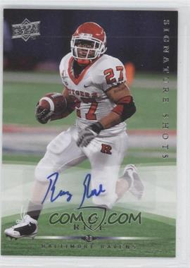 2008 Upper Deck Signature Shots #SS50 - Ray Rice