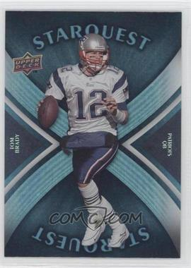 2008 Upper Deck Starquest Rainbow Blue #SQ29 - Tom Brady