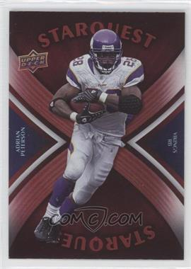 2008 Upper Deck Starquest Rainbow Red #SQ1 - Adrian Peterson