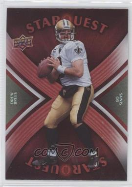 2008 Upper Deck Starquest Rainbow Red #SQ10 - Drew Brees
