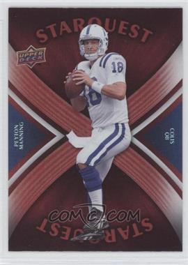 2008 Upper Deck Starquest Rainbow Red #SQ25 - Peyton Manning