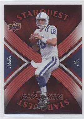 2008 Upper Deck Starquest Rainbow Red #SQ25 - Peyton Manning