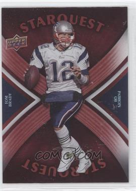 2008 Upper Deck Starquest Rainbow Red #SQ29 - Tom Brady